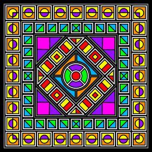 Abstract Geometric 567