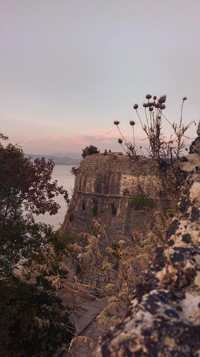 Old fortress of Corfu - Georgia Jo.