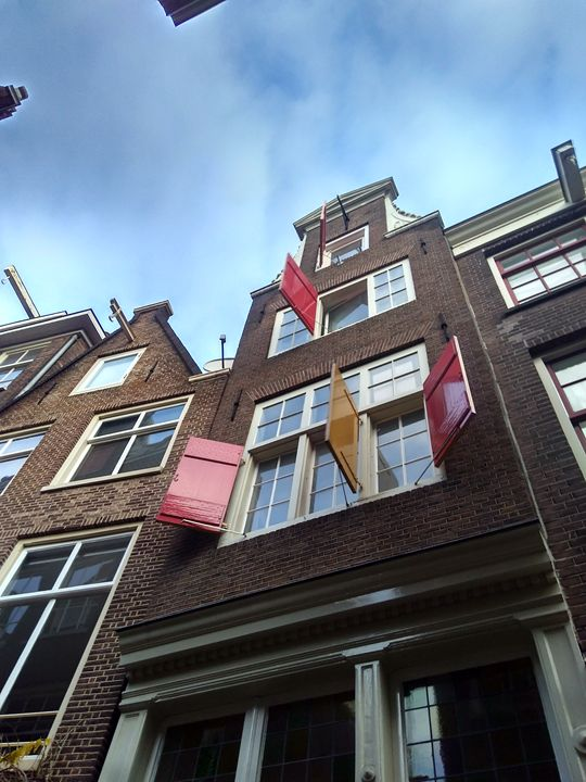 Open windows in Amsterdam - Georgia Jo.