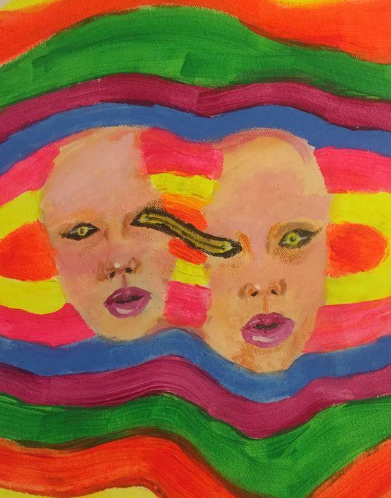 two halves - Anano art