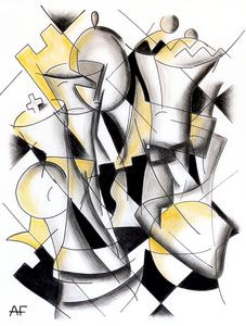 Cubism chess