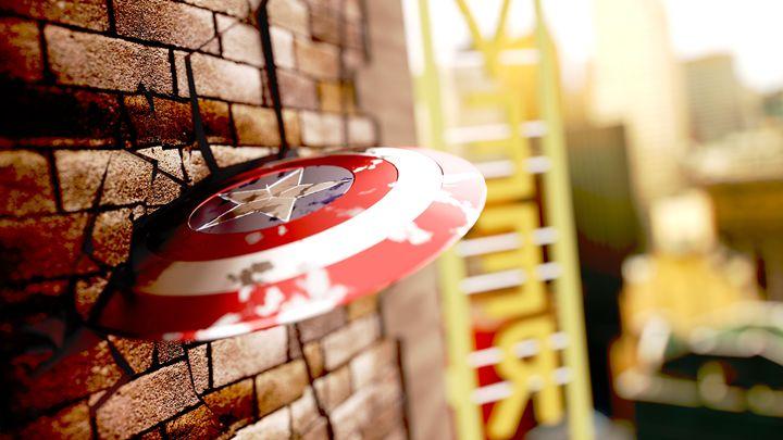 Captain America Shield - Veer Chidar