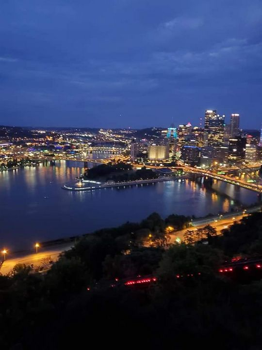 Pittsburgh At Night - Kim's Pictures