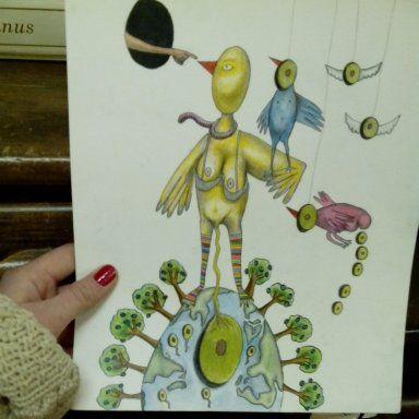 The birth of avocado - Bernadette U