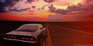 Desert sunset -  Koitromet