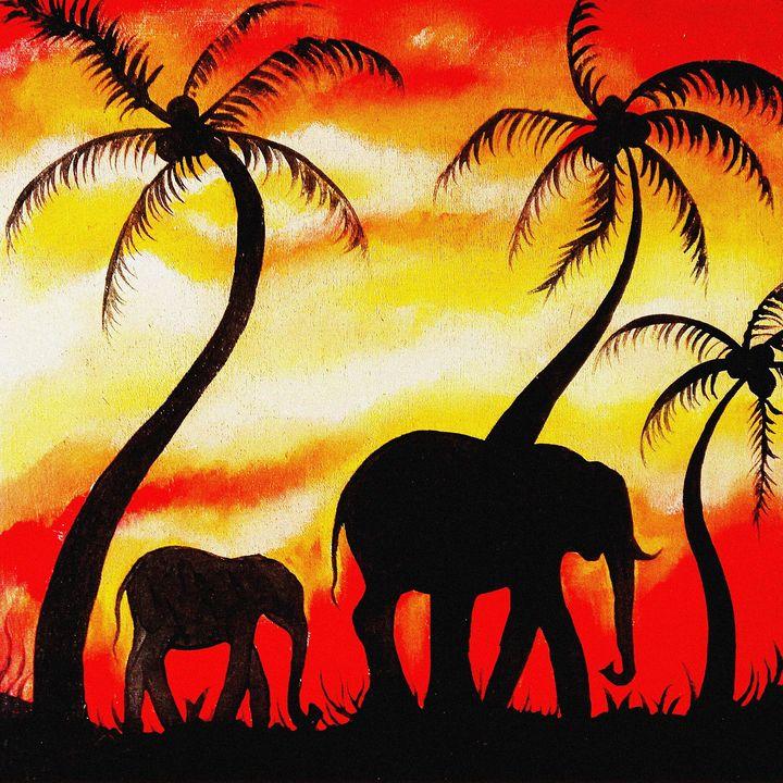 Elephants - Matovu Derric