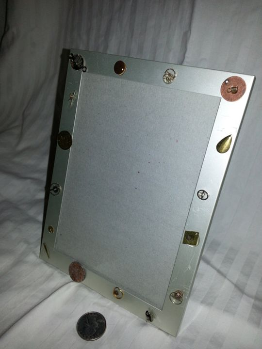 4x6 Photo Frame - Steampunk Style - Happy Green Living