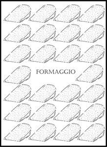 Formaggio - Cheese - The Italian Print Company