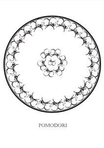 Pomodori - Tomatoes - The Italian Print Company