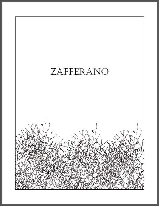 Zafferano - Saffron - The Italian Print Company