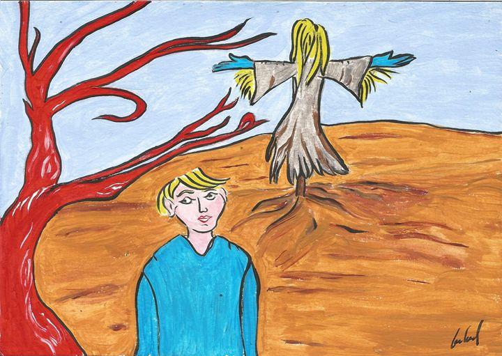 red tree - Gabriel Coelho