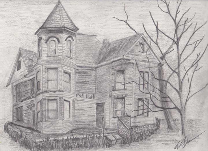 """Abandoned House"" - Eric S ART"
