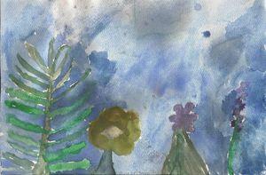 Fern & Flowers