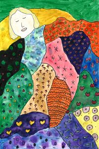 Self Portrait a la Klimt