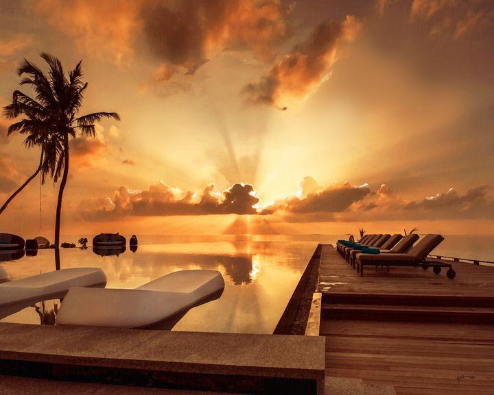 sunset/Rays - Angelo
