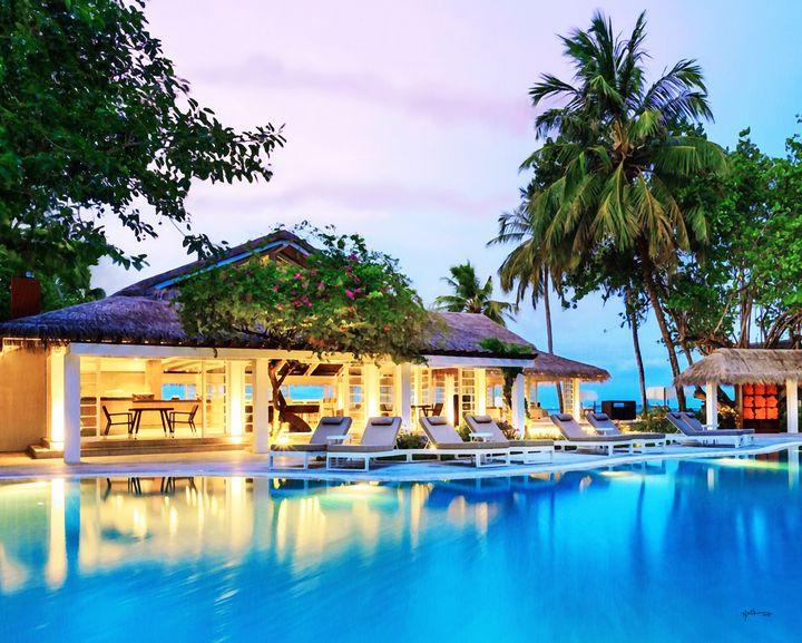 Beach Villa/evening/maldives - Angelo