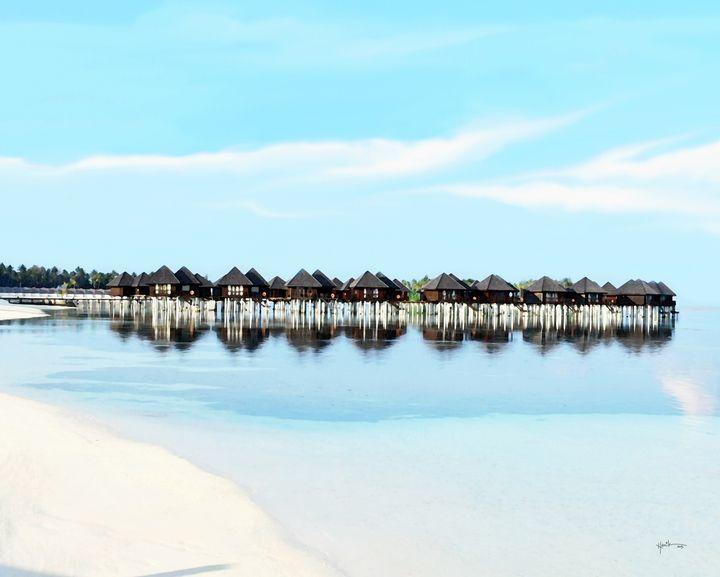 Reflection Of Water Villas / Maldive - Angelo
