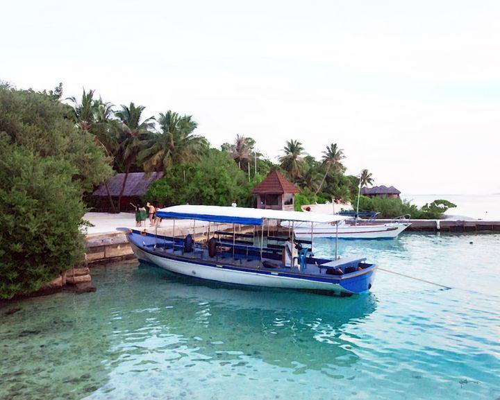 Transportation#maldives#watercolor - Angelo