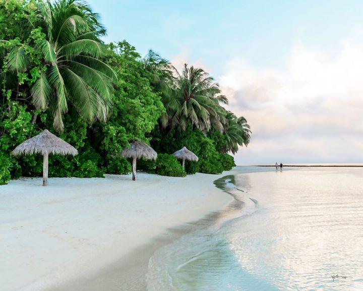 Huts#maldives#watercolor - Angelo