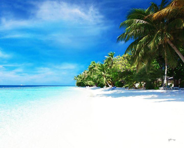 White Sugar Fine Sandy Beach/maldive - Angelo