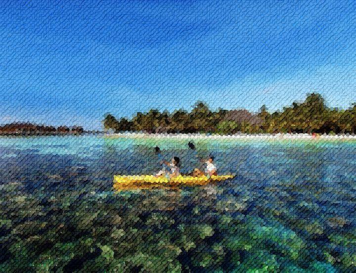 Rowing-maldives - Angelo
