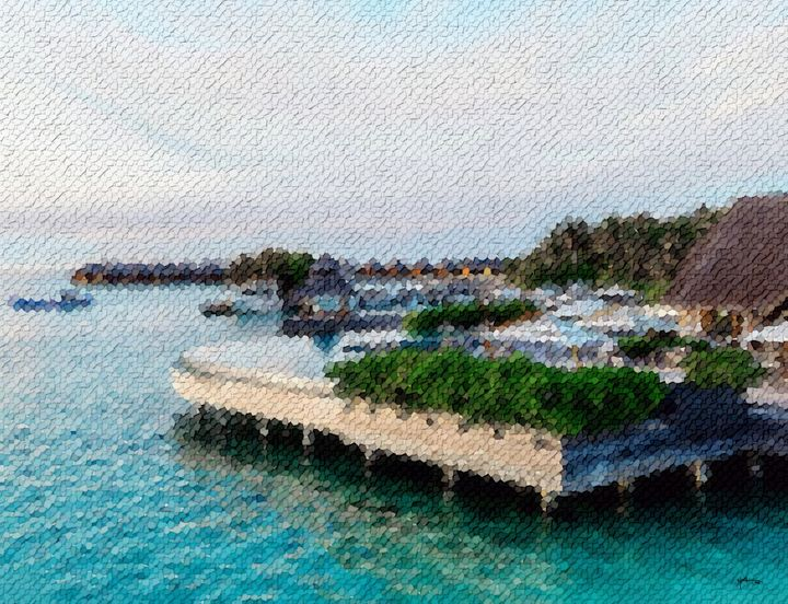 Poolside-view-of-resort-maldives - Angelo