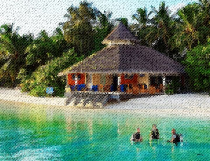 People-living-life-in-peace-maldives - Angelo