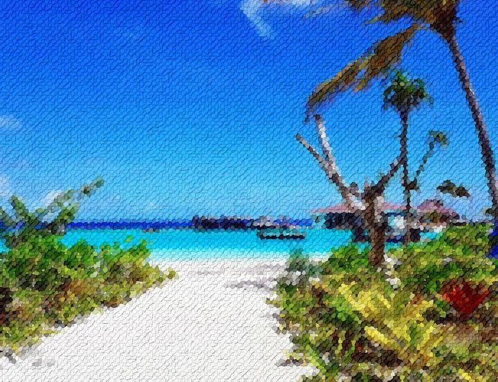 Maldives-very-white-beach - Angelo