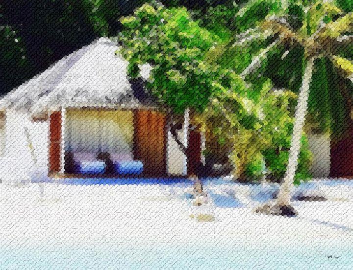 Maldives-on-the-shore-almost-alone - Angelo