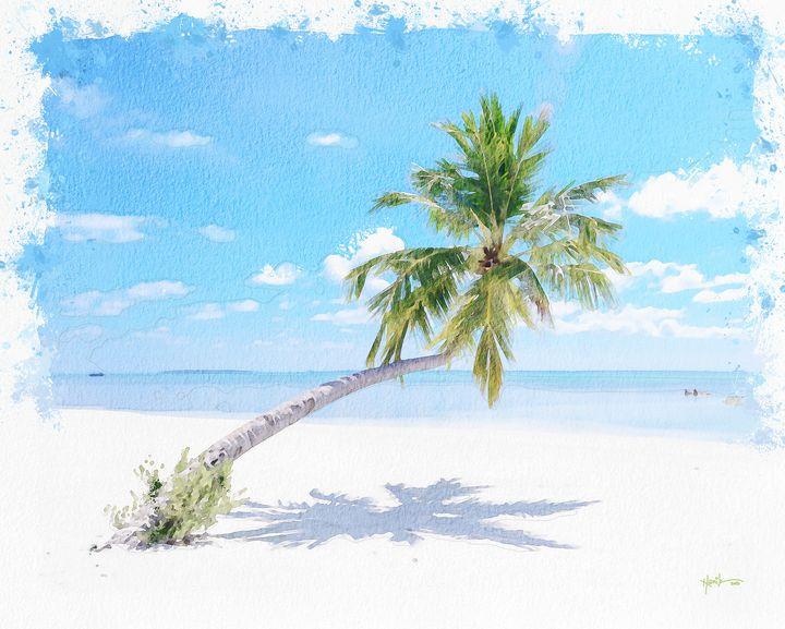 Maldives, sandy beach - Angelo