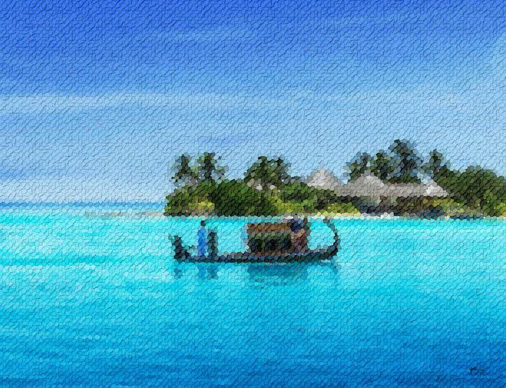 Great-yellow-sun-in-maldives - Angelo