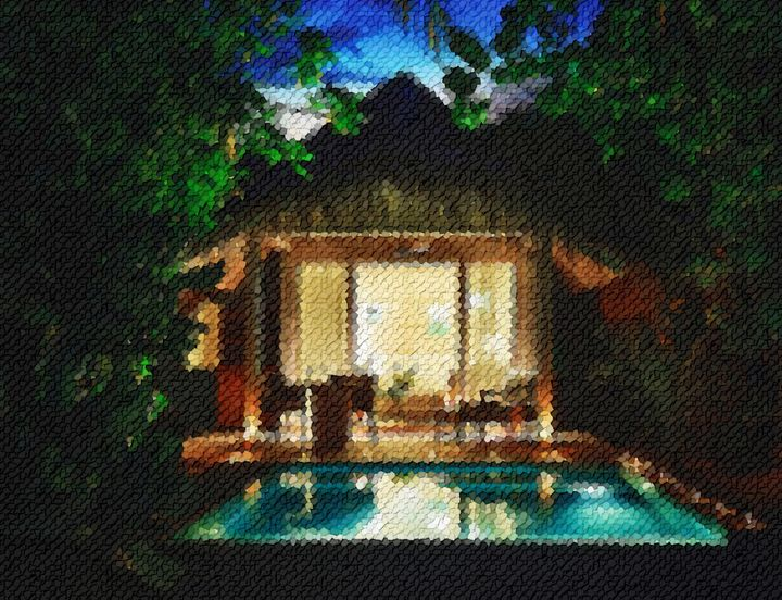 Bungalow-with-pool-maldives - Angelo