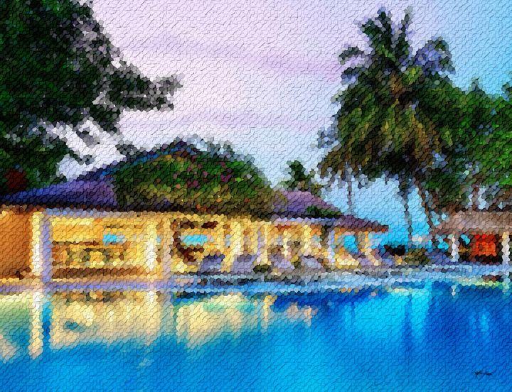 Beach-villa-evening-maldives - Angelo