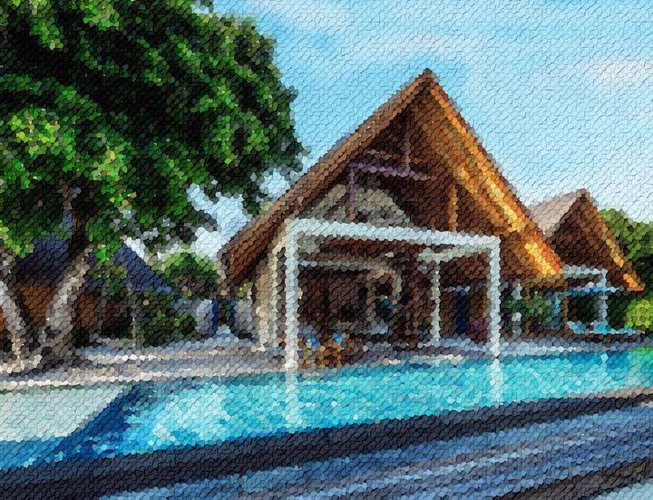 Beach-pool-villa-maldives - Angelo
