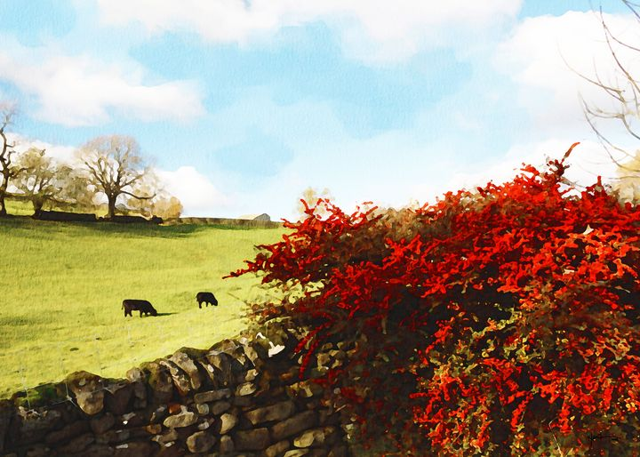 autumn landscape on british country' - Angelo