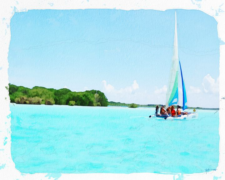Maldives,Island Sailing - Angelo
