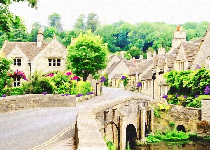 South Cotswolds Village - Angelo