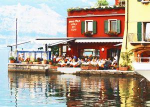 Harbour Restaurant Italy Garda