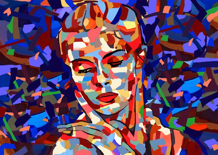 1 Abstract Portrait - Angelo