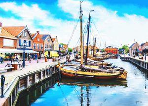 Netherlands Old Boats