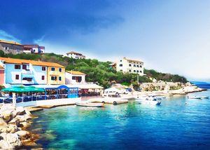 Valun island of Cres Croatia