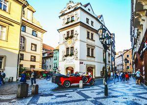 Prague Czech Republic Square