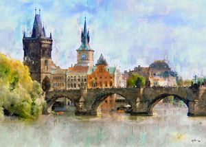 Prague, Czech Republic. Charles Bri