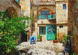 Turkey-Cappadocia-Courtyard