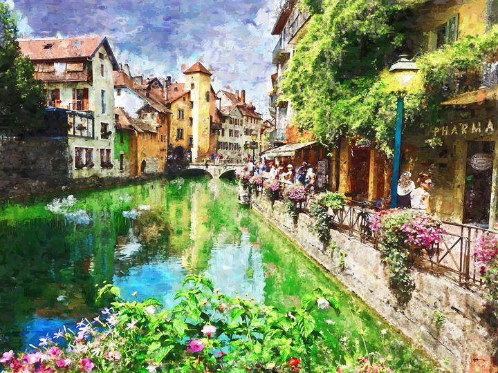 Annecy-France - Angelo