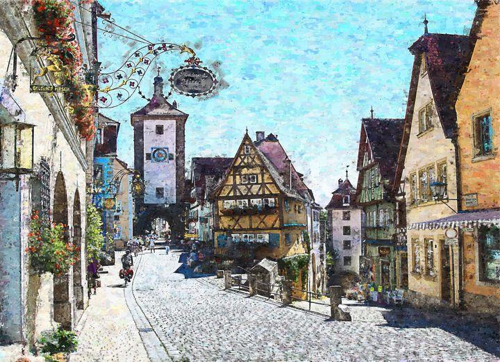 Rothenburg Germany - Angelo