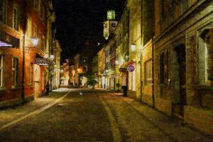 Uberlingen Historic Center Germany