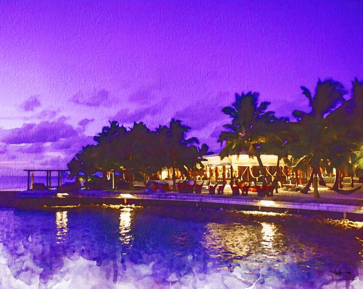 an evening in Maldives - Angelo