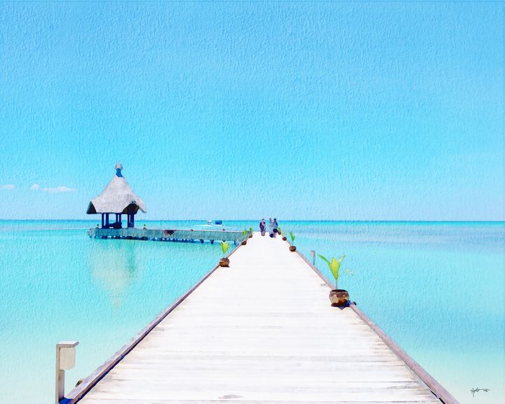 Calm Day In Maldives - Angelo