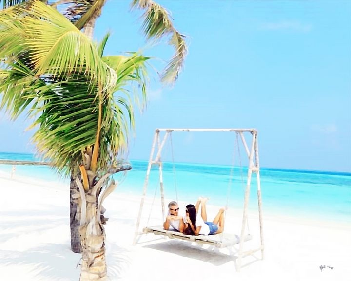 Maldives,Picture you in summertime - Angelo